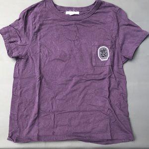 vans purple top